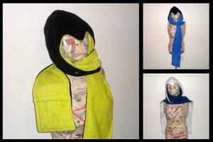 Assassin hoodie scarf - Ultimate Edition by eitanya