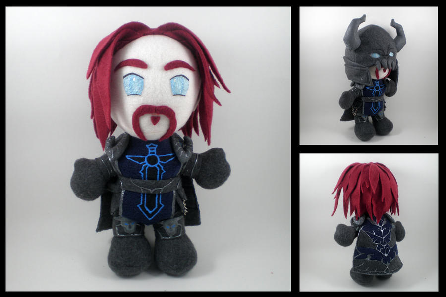 WoW - Darion Mograine plushie by eitanya