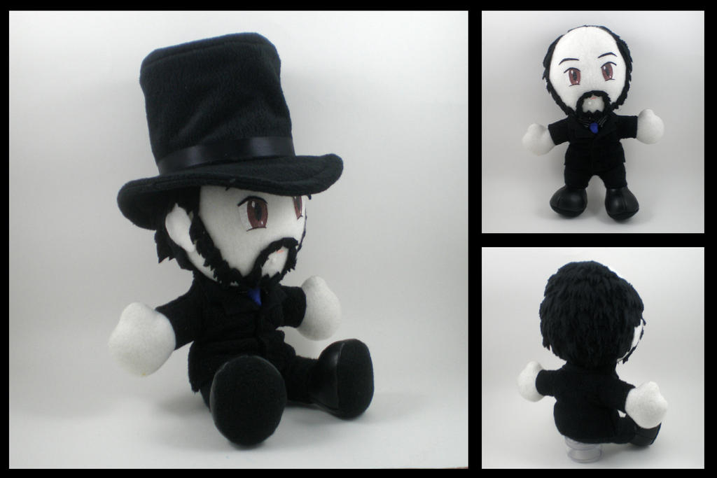 TotalBiscuit plushie by eitanya