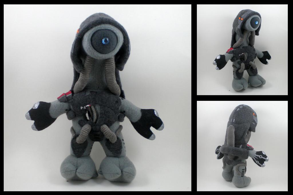 Mass Effect - Legion plushie by eitanya