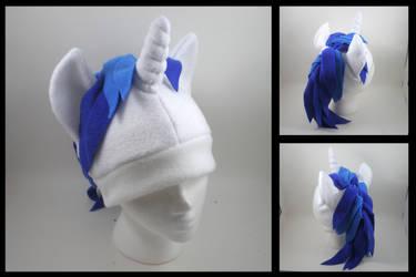 Vinyl Scratch pony hat by eitanya