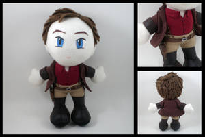 Firefly - Captain Reynolds plushie by eitanya