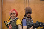 Borderlands cosplay - Vault Hunters