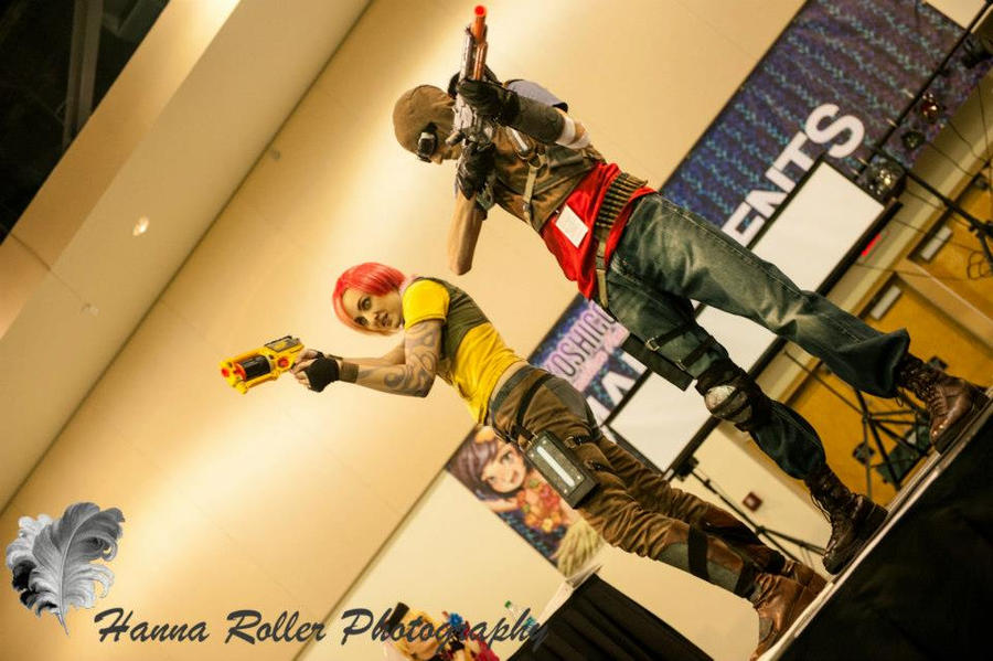 Borderlands cosplay - Lil and Mordy being all epic by eitanya