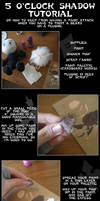 Plushie 5 o'clock shadow tutorial