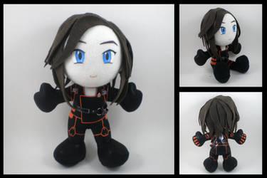 Mass Effect - Miranda plushie by eitanya