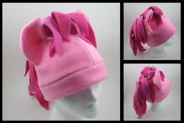 Pinkie Pie fleece pony hat by eitanya