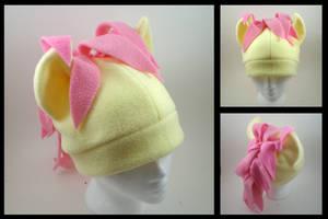 Fluttershy fleece pony hat