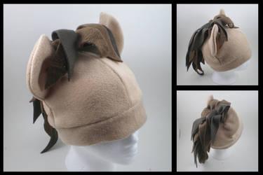 Doctor Whooves fleece hat by eitanya