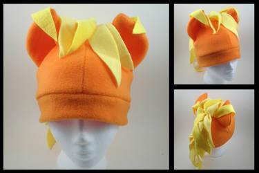 Applejack fleece hat by eitanya