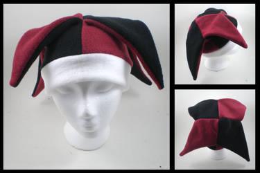 Harlequin hat by eitanya
