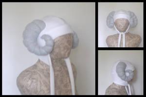 Custom ram horn hat
