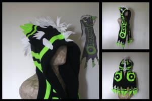 Custom beastie scarf by eitanya