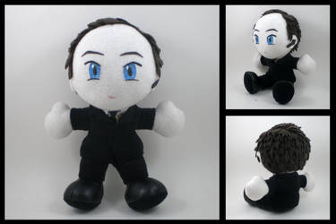 S.H.I.E.L.D. Agent Coulson plushie by eitanya