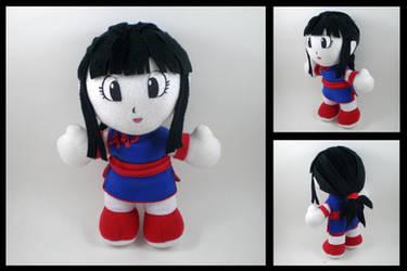 Dragonball Z - Chi Chi plush by eitanya