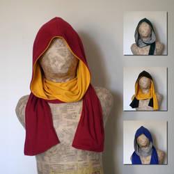 House hoodie-scarves by eitanya