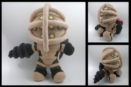 Big Daddy plush