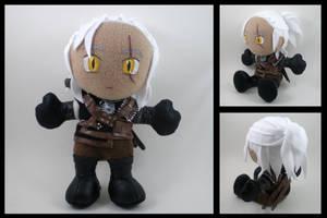 Geralt plushie - The Witcher 2