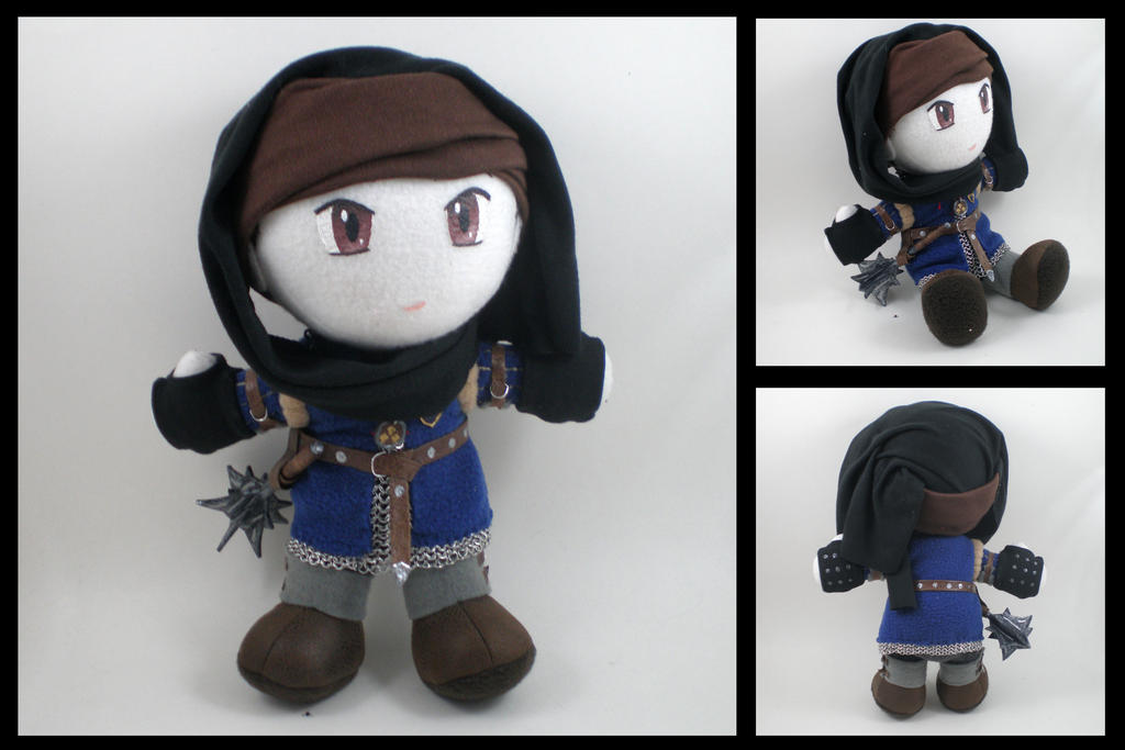The Witcher 2 - Vernon Roche plushie by eitanya
