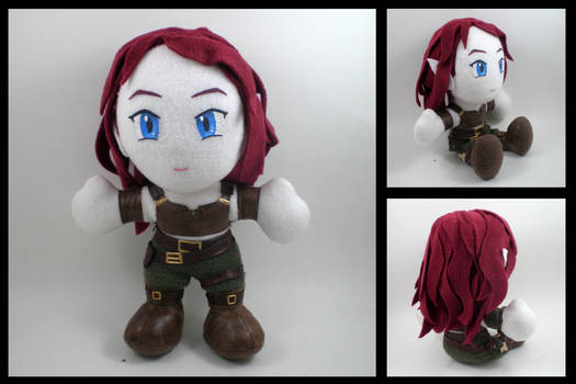 Dragon Age city elf plushie
