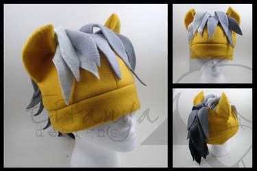 Daring Do fleece pony hat by eitanya