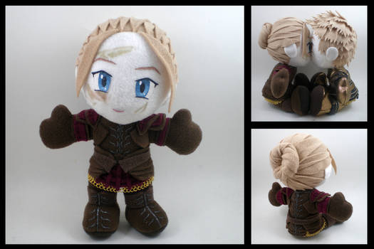 Dragon Age warden plushie