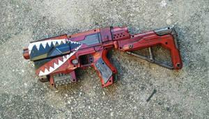 Borderlands Bandit-style pistol by eitanya