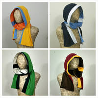 Elemental hoodie scarves by eitanya