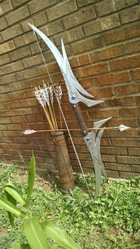 Dragon Age bow and arrow props