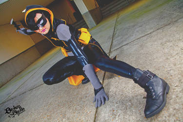 Batgirl - Cassanda Cain cosplay