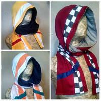 Mercenary hoodie scarves