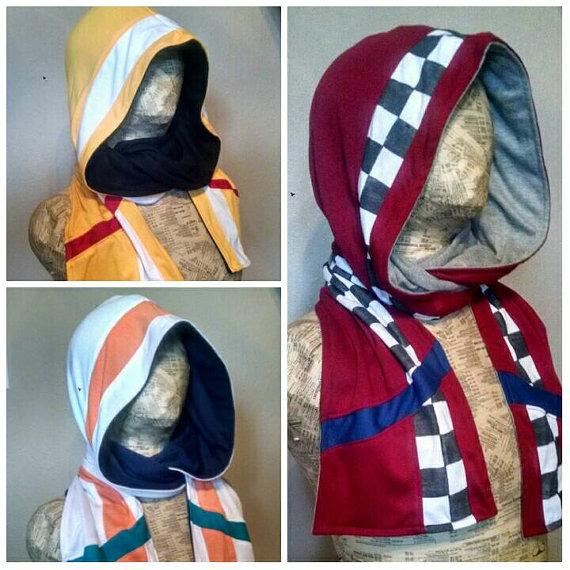 Mercenary hoodie scarves by eitanya