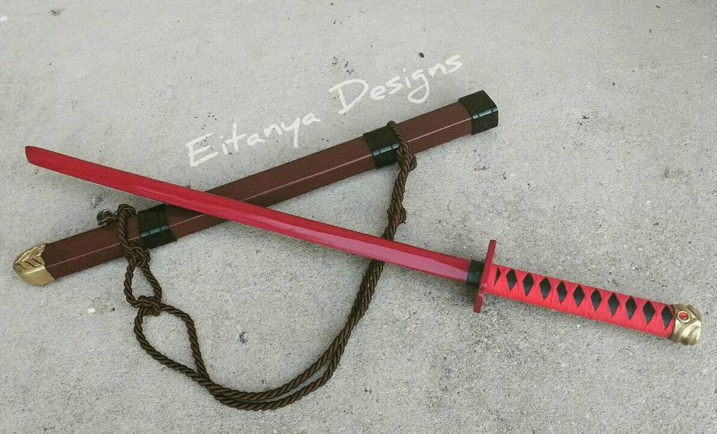Wolverine's Muramasa sword  by eitanya