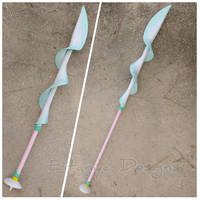 Pearl's Spear from Steven Universe - cosplay prop