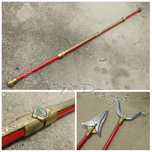 Dairanger staff - prop replicas by eitanya