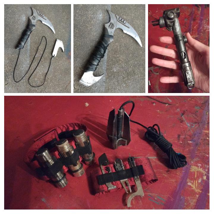Mandalorian weapons loadout by eitanya