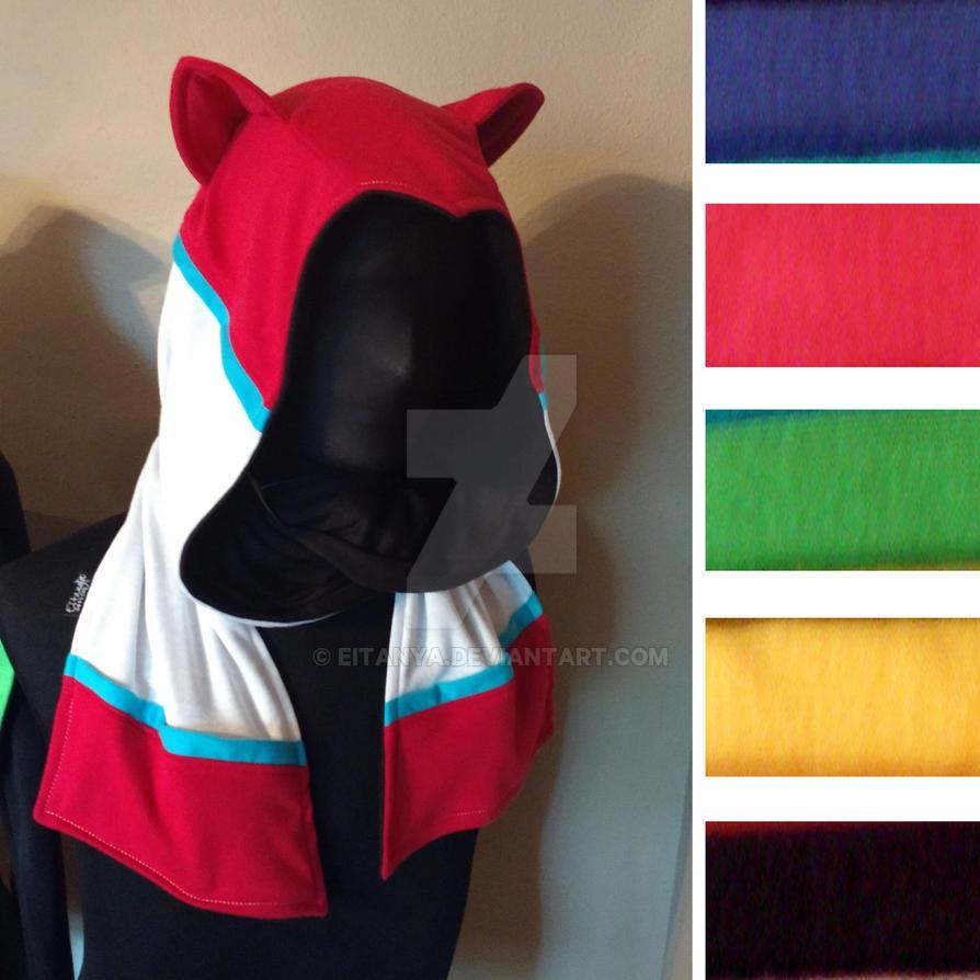 Defender hoodie scarf by eitanya