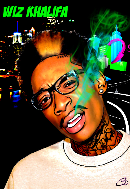 Wiz Khalifa by LiLiSODMG on DeviantArt