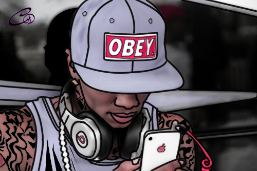 soulja boy obey cartoon by lilisodmg on deviantart