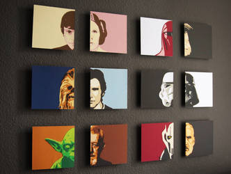 Star Wars Character Faces
