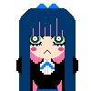 Stocking Pixel Art Icon by me~My first pixel icon! by LadyEdile