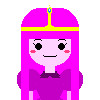 Princess Bubblegum Pixel Art by me~ by LadyEdile
