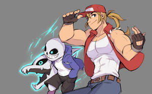 Terry and Sans