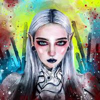 Dark Elf by fromNeverlend