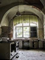 antiquated kitchen range by liebeSuse