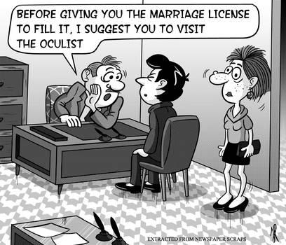 Go to oculist first!