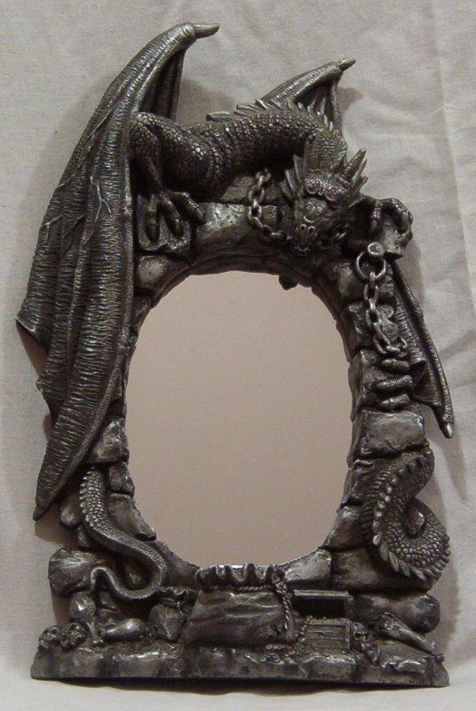 Dragon Mirror by wrathman-stock