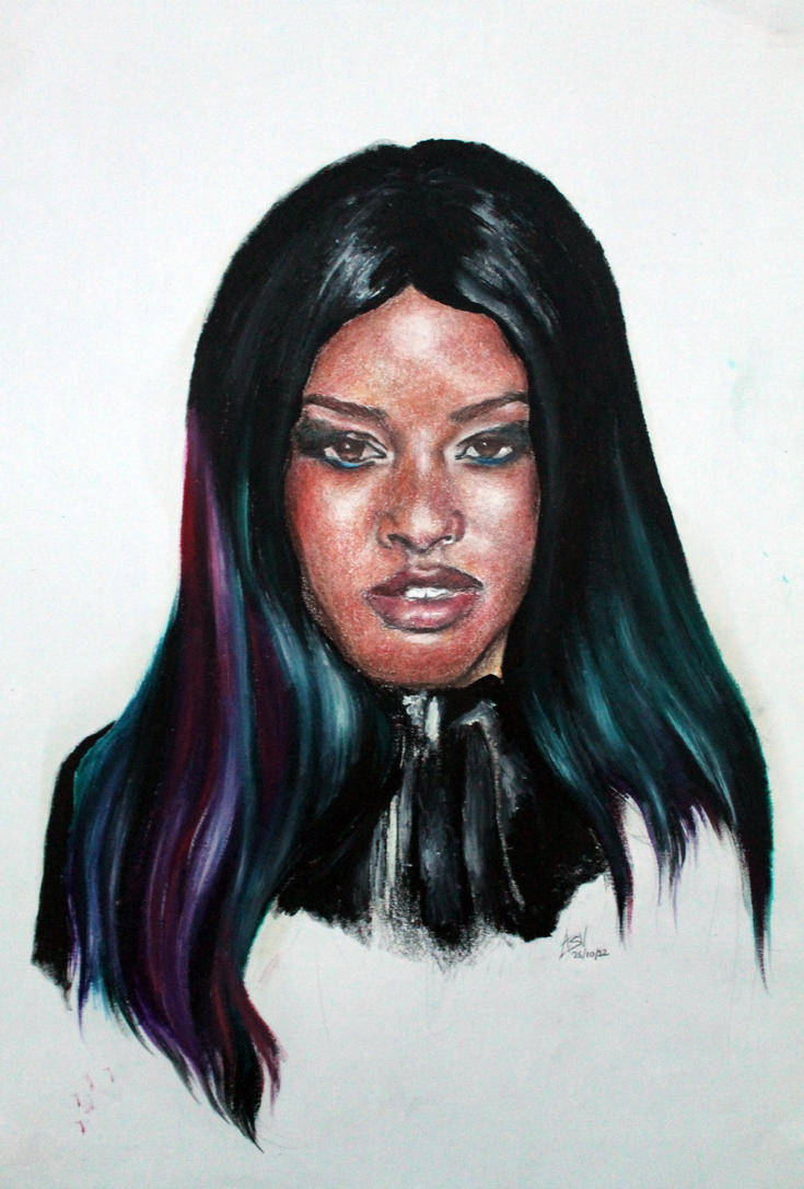 Azealia Banks by avneetviera