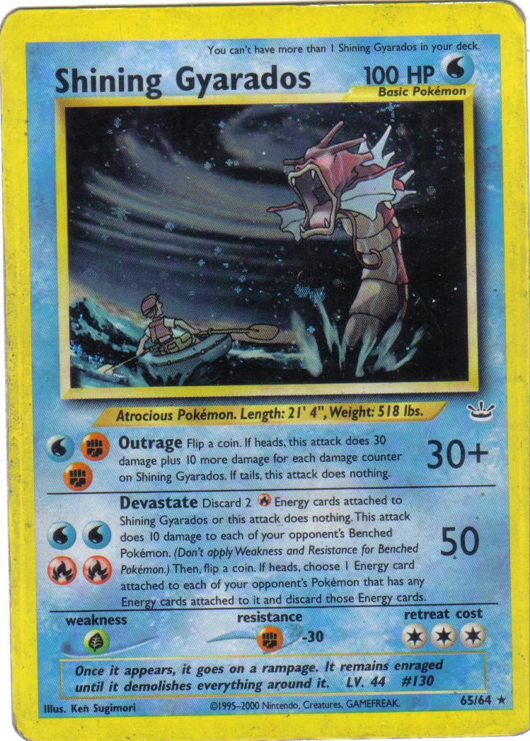 My Shining Gyarados card by Demon-Angel1200 on DeviantArt