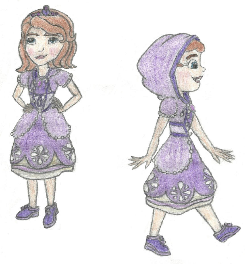 Sofia The First: Kingdom Hearts Style ( color ) by Demon-Angel1200 on ...